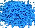 Премиум-крошка фракции 2-3 мм небесно-голубого цвета (017)