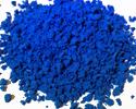 Премиум-крошка фракции 2-3 мм цвета синий электрик (018)